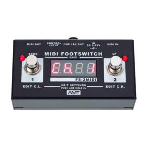 Фото 6 - AMT FS-2 MIDI Footswitch.