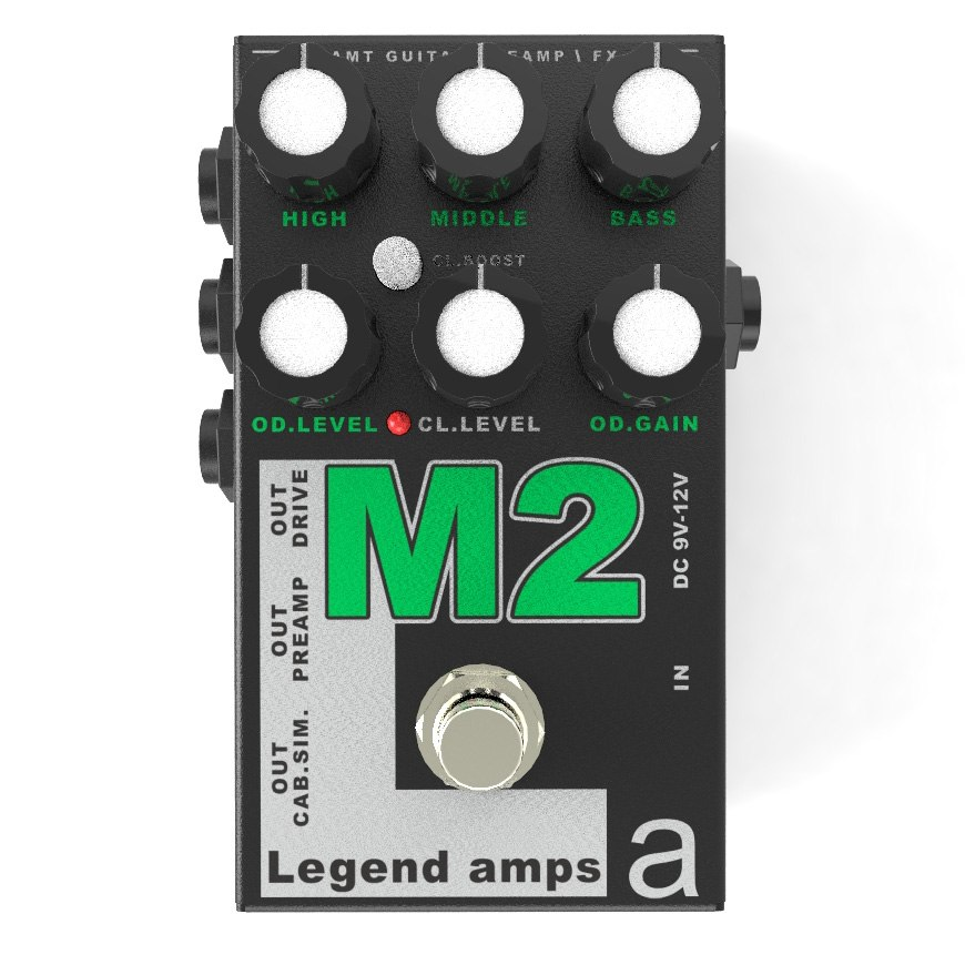 Фото 2 - AMT M2 (Marshall) Legend Amps Preamp.