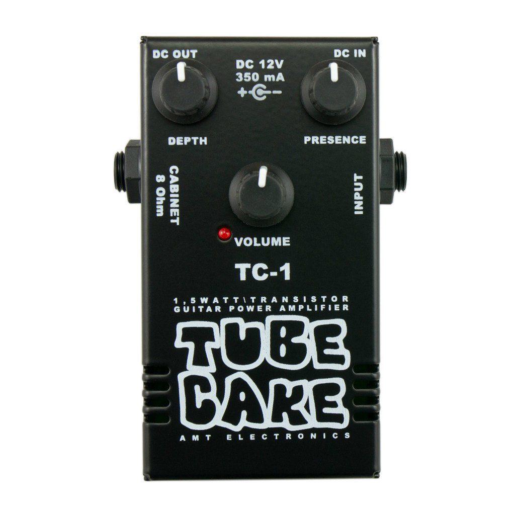 Фото 2 - AMT TC-1 Tubecake 1.5W усилитель мощности гитарный (оконечник).