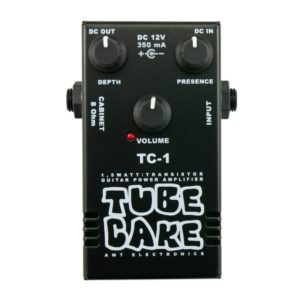 Фото 3 - AMT TC-1 Tubecake 1.5W усилитель мощности гитарный (оконечник).