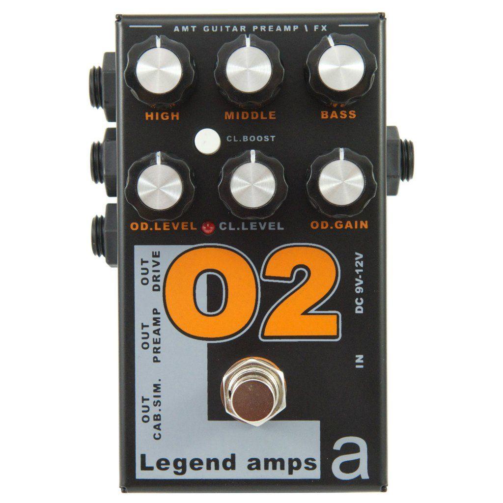 Фото 2 - AMT O2 (Orange) Legend Amps Preamp.