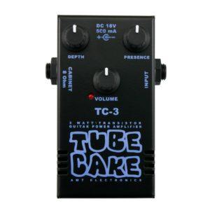 Фото 18 - AMT TC-3 Tubecake 3W усилитель мощности гитарный (оконечник).