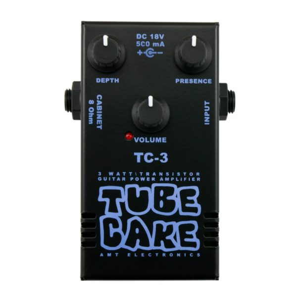 Фото 1 - AMT TC-3 Tubecake 3W усилитель мощности гитарный (оконечник).