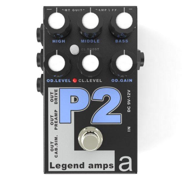 Фото 1 - AMT P2 (Peavey) Legend Amps Preamp.