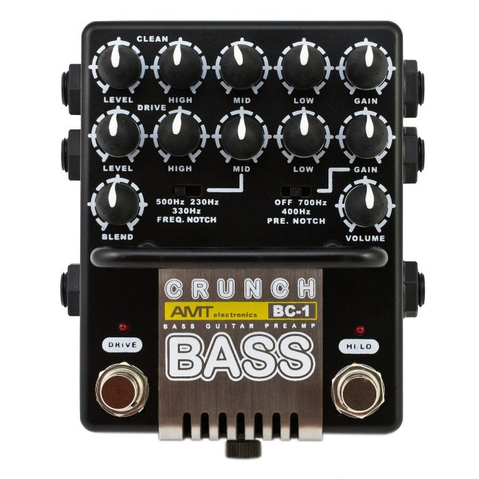 Фото 2 - AMT BC-1 Bass Crunch Preamp.