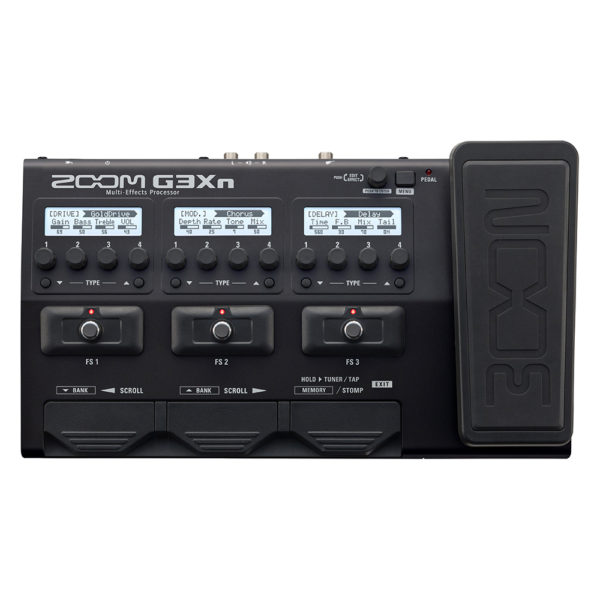 Фото 1 - Zoom G3Xn Guitar Effects Processor.