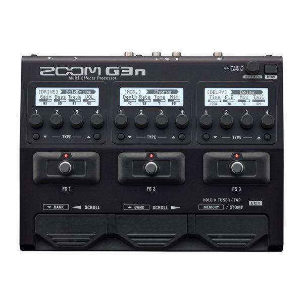 Фото 1 - Zoom G3n Guitar Effects Processor.