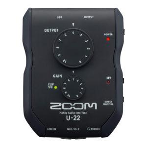 Фото 13 - Zoom U-22 (U22) Handy Audio Interface.