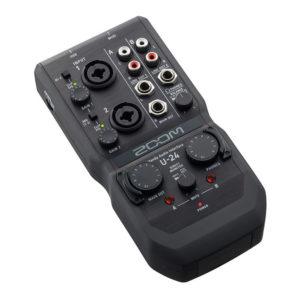 Фото 19 - Zoom U-24 (U24) Handy Audio Interface.