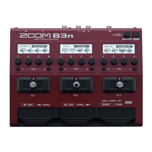 Фото 1 - Zoom B3n процессор для бас-гитары.