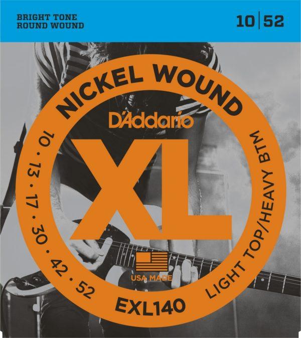 Фото 1 - D'Addario 10-52 EXL140 Nickel Wound.
