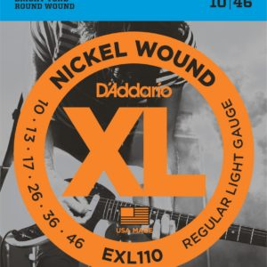 Фото 10 - D'Addario 10-46 EXL110 Nickel Wound.
