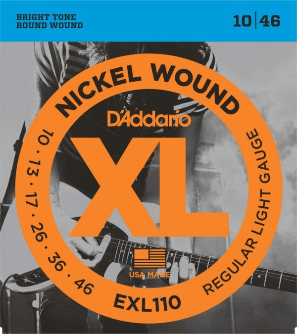 Фото 1 - D'Addario 10-46 EXL110 Nickel Wound.