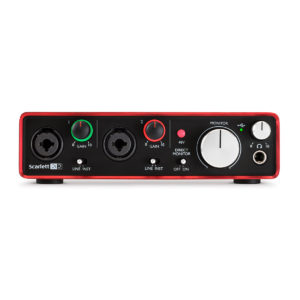 Фото 9 - Focusrite Scarlett 2i2 2nd gen.