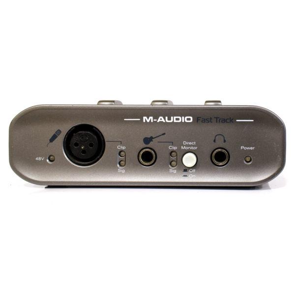 Фото 2 - Звуковая карта M-Audio Fast Track USB (used).