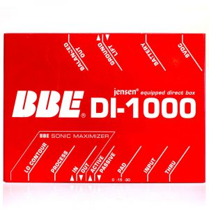 Фото 5 - BBE DI-1000 Jensen Equipped Direct Box (used).