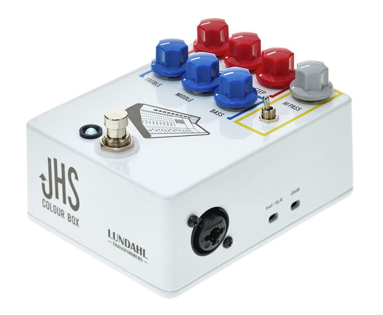 Гитарная педаль эффектов Jhs Pedals Colour Box Preamp