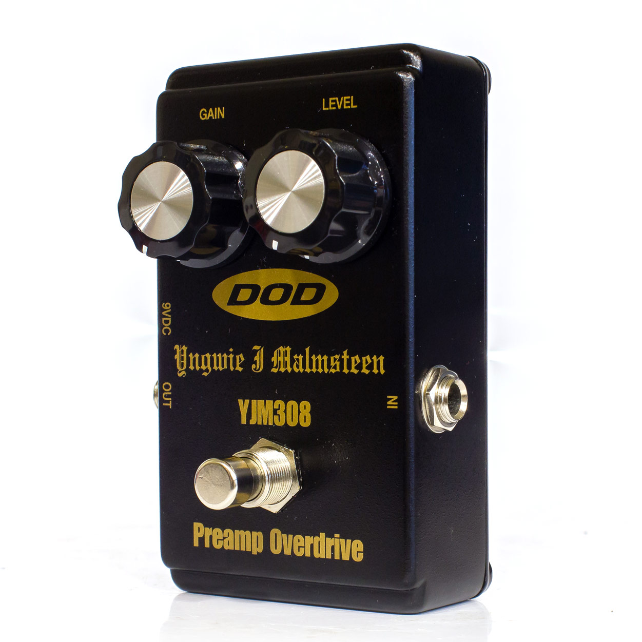 Dod Yjm308 Preamp Overdrive Yngwie Malmsteen Signature