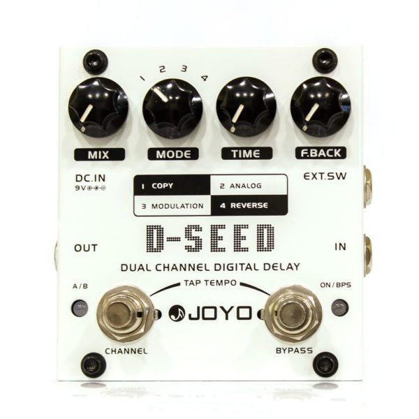 Фото 1 - Joyo D-Seed Dual Chanel Digital Delay (used).