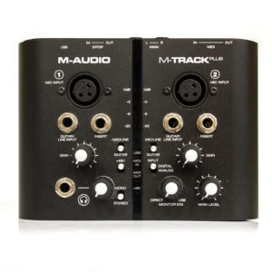 Фото 18 - USB M-Audio M-Track Plus (used).