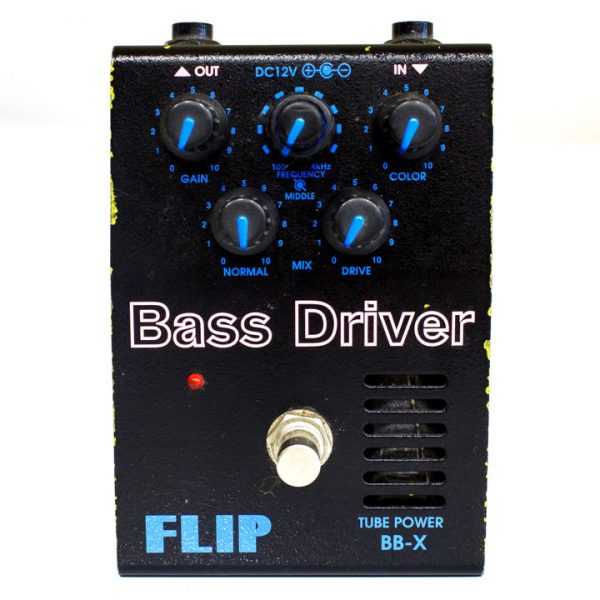 Фото 2 - Guyatone BB-X Flip Bass Driver Overdrive Distortion (used).