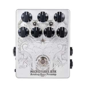 Фото 10 - Darkglass Electronics Microtubes B7K Analog Bass Preamp Limited Edition White.
