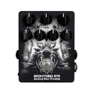 Фото 11 - Darkglass Electronics Microtubes B7K Analog Bass Preamp Limited Edition Black.