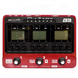 Фото 19 - Zoom B3 Bass Multi-Effects Processor (used).