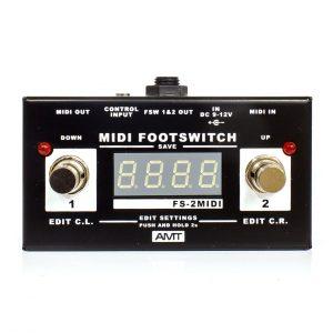 Фото 15 - AMT FS-2 MIDI Footswitch (used).