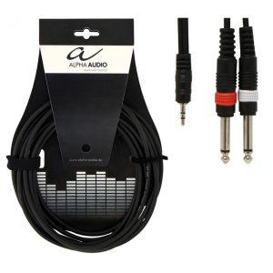 Фото 12 - Alpha Audio Basic Line 190120 Y-аудиокабель 1.5 м.