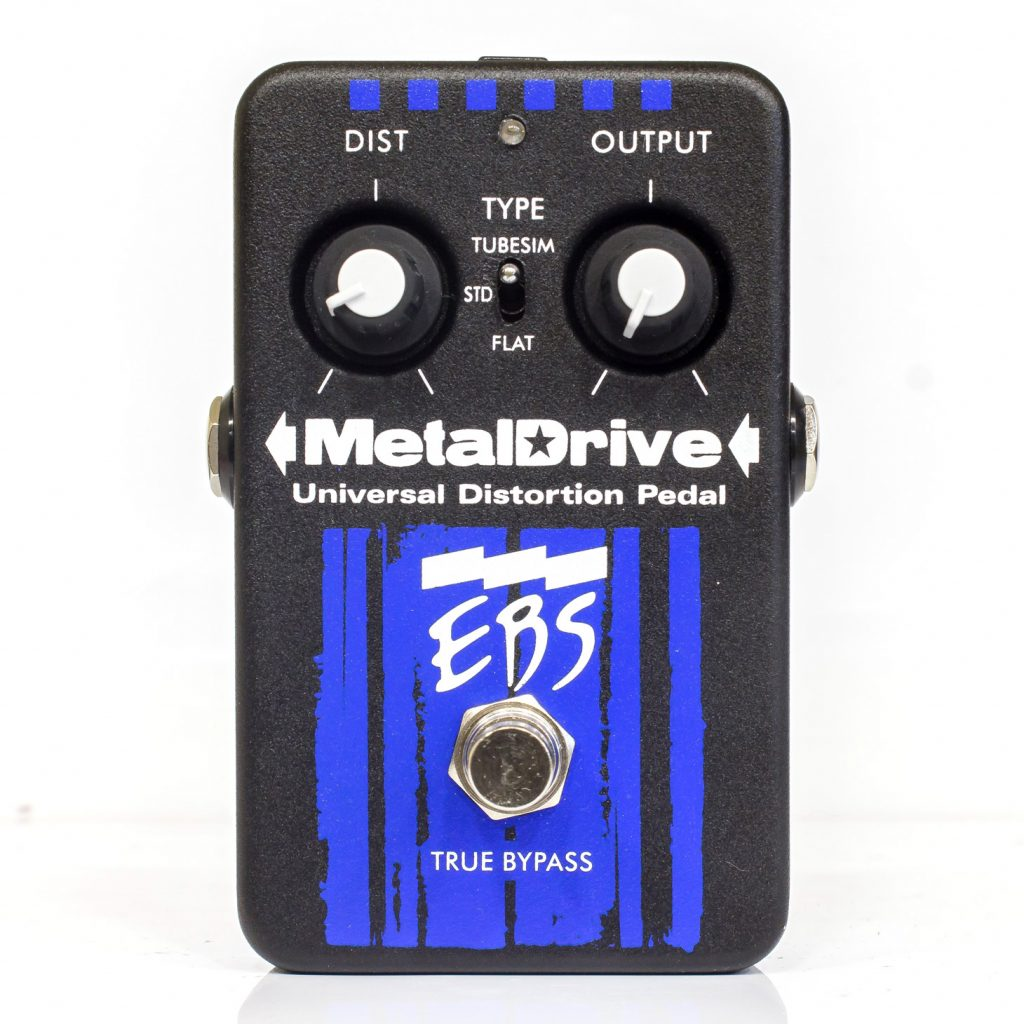 Фото 5 - EBS Metaldrive Universal Distortion Pedal (used).