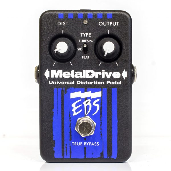Фото 2 - EBS Metaldrive Universal Distortion Pedal (used).