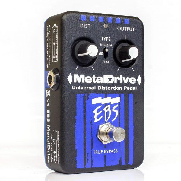 Фото 4 - EBS Metaldrive Universal Distortion Pedal (used).