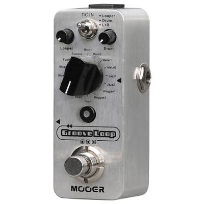 Mooer MLP2 Groove Loop Drum Machine and Looper Pedal