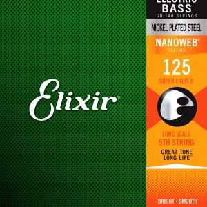 Фото 9 - Elixir 125 Long Scale Super Light B 15425.