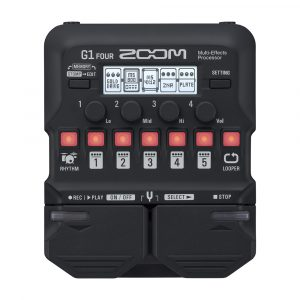 Фото 8 - Zoom G1 Four Multi-Effect-Pedal.
