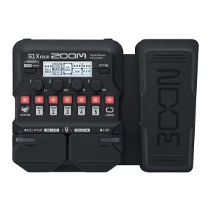 Фото 9 - Zoom G1X Four Multi-Effect-Pedal.