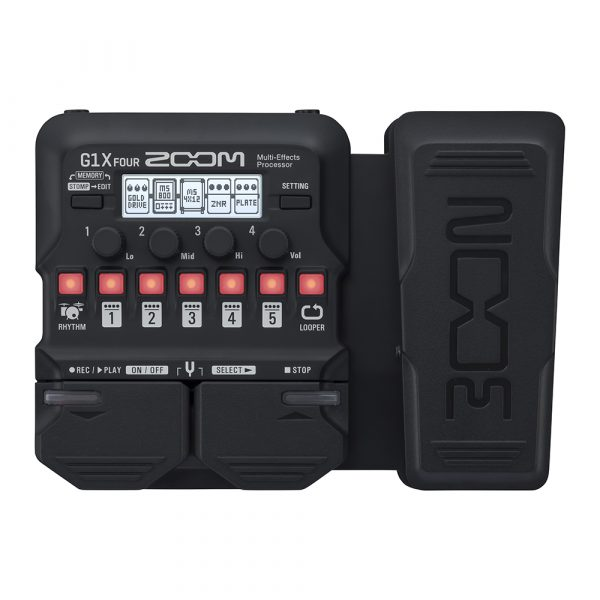 Фото 1 - Zoom G1X Four Multi-Effect-Pedal.