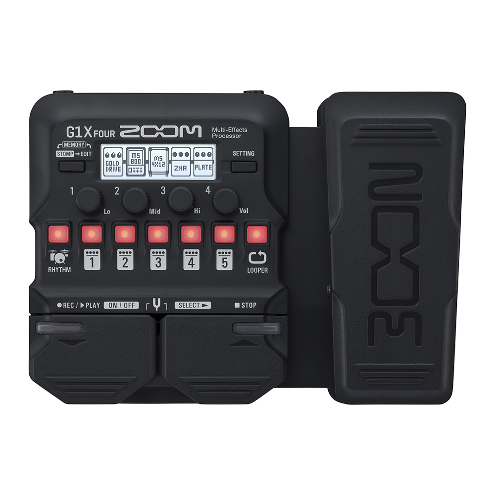 Фото 2 - Zoom G1X Four Multi-Effect-Pedal.