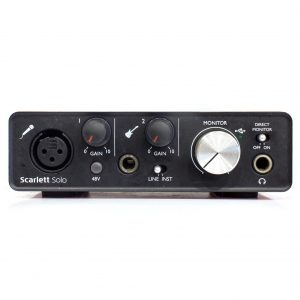 Фото 25 - Focusrite Scarlett Solo 2nd gen (used).