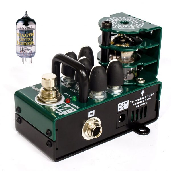 Фото 2 - AMT Bricks M-Lead PLUS - ламповый гитарный предусилитель.