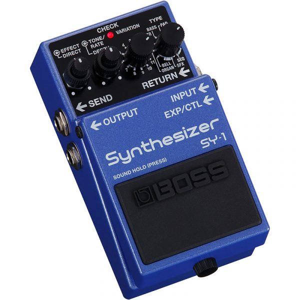 Фото 2 - Boss SY-1 Synthesizer.