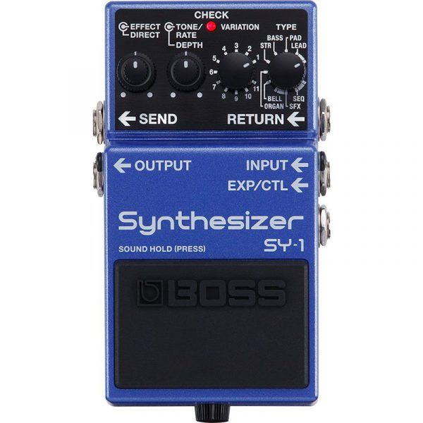 Фото 1 - Boss SY-1 Synthesizer.