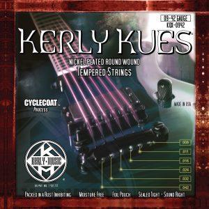 Фото 8 - KERLY KQX-0942 Kues Nickel Plated Steel Tempered струны для электрогитары.