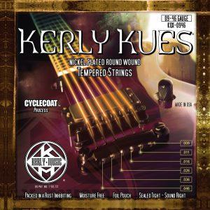 Фото 2 - KERLY KQX-0946 Kues Nickel Plated Steel Tempered струны для электрогитары.