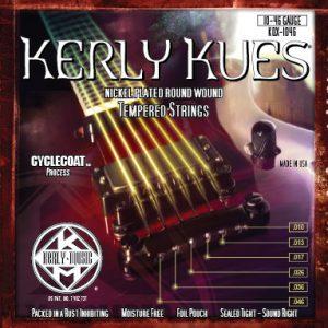 Фото 3 - KERLY KQX-1046 Kues Nickel Plated Steel Tempered струны для электрогитары.