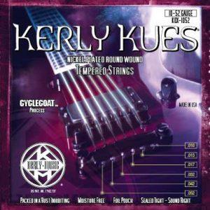 Фото 4 - KERLY KQX-1052 Kues Nickel Plated Steel Tempered струны для электрогитары.