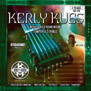 Фото 5 - KERLY KQX-1148 Kues Nickel Plated Steel Tempered струны для электрогитары.