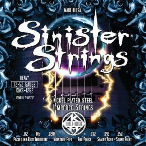 Фото 17 - KERLY KQXS-1252 Sinister Nickel Plated Steel Tempered струны для электрогитары.