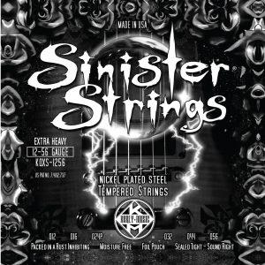 Фото 9 - KERLY KQXS-1256 Sinister Nickel Plated Steel Tempered струны для электрогитары.